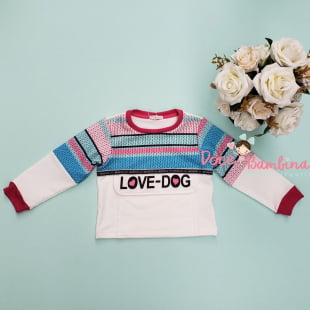 Conjunto Mon Sucré de Inverno Curto Love Dog