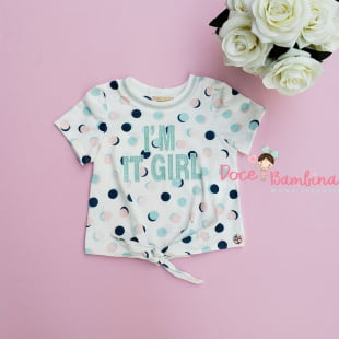Conjunto Petit Cherie Blusa e Short It Girl