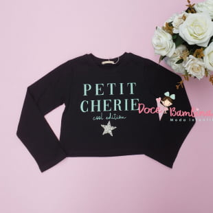 Conjunto Petit Cherie de Inverno Curto Fun Style