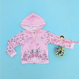 Conjunto Petit Cherie de Inverno Longo Floral Princess
