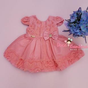Vestidos De Bebe Doce Bambina Moda Infantil