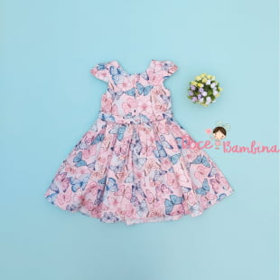 Vestido Petit Cherie bebe butterfly