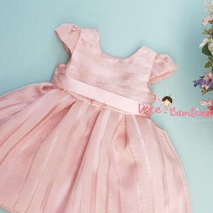 Vestido Petit Cherie Bebe Charming Roses