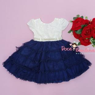 Vestido Infantil Social + Brinde