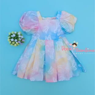 Vestido Mon Sucre Butterfly Color
