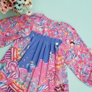 Vestido Mon Sucré Candy Love