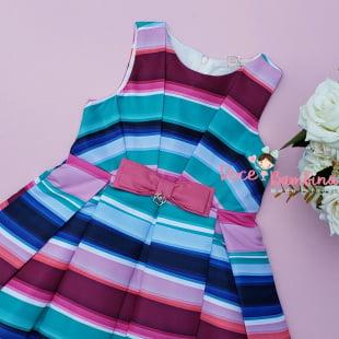 Vestido Mon Sucré Colorido