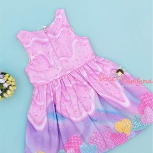 Vestido Mon Sucre Docinhos Color