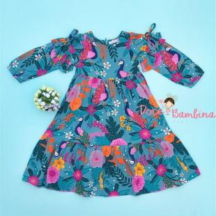Vestido Mon Sucre Jardim das Flores