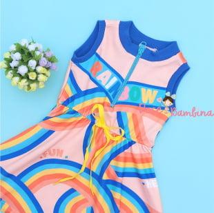 Vestido Mon Sucré Rainbow