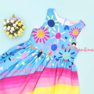 Vestido Mon Sucre Rainbow Summer