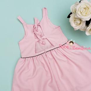 Vestido Mon Sucre Rosa Floral
