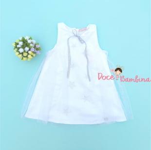 Vestido Mon Sucré Star White