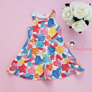 Vestido Mon Sucré Sweet Print