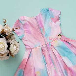 Vestido Mon Sucré Tie Dye