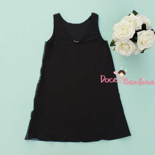 Vestido Petit Cherie Casual Black Fresh