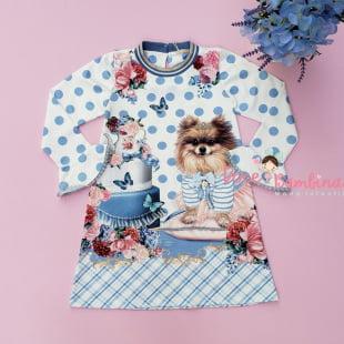 Vestido Petit Cherie Casual Chá da Tarde