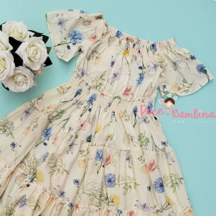 Vestido Petit Cherie Casual Garden Flowers
