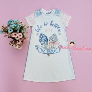 Vestido Petit Cherie Casual Ice Cream