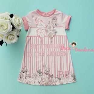 Vestido Petit Cherie Casual Jardim Encantado