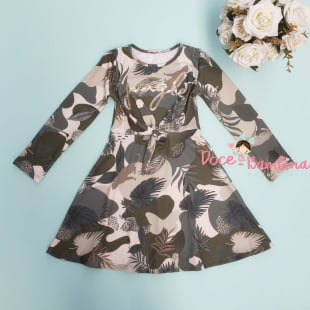 Vestido Petit Cherie Casual Kids Jungle