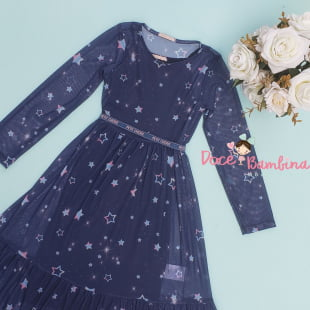 Vestido Petit Cherie Casual Starry Night