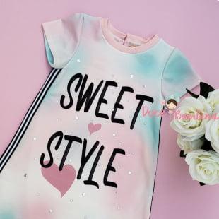 Vestido Petit Cherie Casual Tie Dye Sweet Style