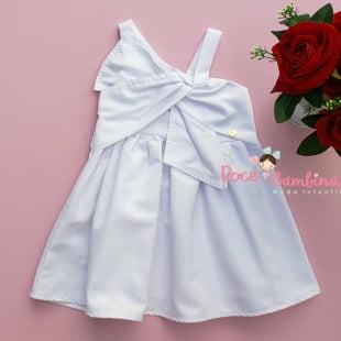 Vestido Mon Sucré Branco Coleção Festa Fim de Ano