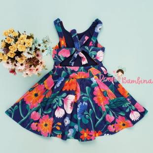 Vestido Mon Sucré Camponesa Floral