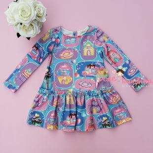 Vestido Mon Sucré de Inverno Candy Land