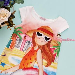 Vestido Mon Sucré Férias na Praia