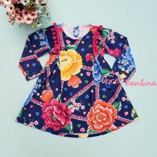 Vestido Mon Sucré Flor de Chita