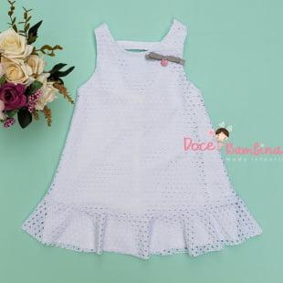 Vestido Mon Sucré Renda Branco