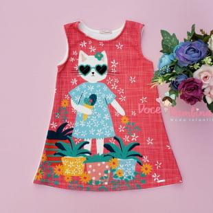 Vestido Mon Sucré Verão da Gatinha