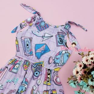 Vestido Mon Sucré Verão Pop