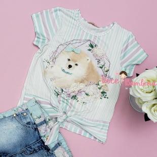 Conjunto Petit Cherie Blusa e Short Color Fresh Exclusivo