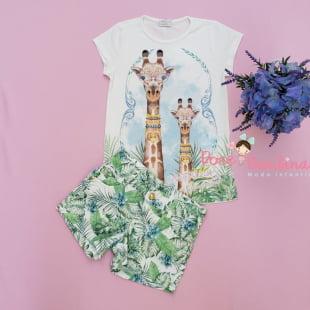Conjunto Petit Cherie Blusa e Short Selva Fashion por Samuel Cirnansck