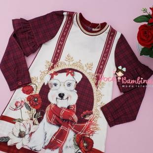 Vestido Petit Cherie Casual Cachorrinha de Cachecol