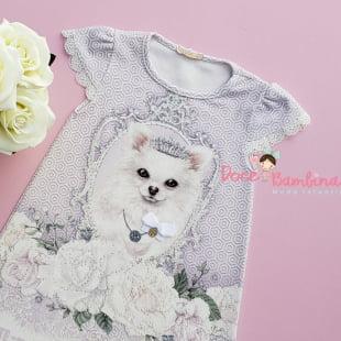 Vestido Petit Cherie Casual Cachorrinha Realeza