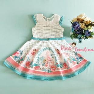 Vestido Petit Cherie Casual  Fadinhas e Unicórnios
