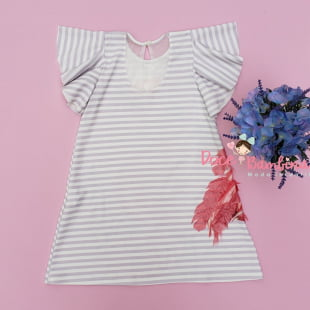 Vestido Petit Cherie Casual Flamingo