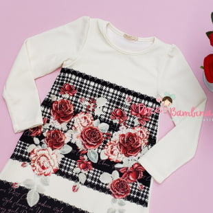Vestido Petit Cherie Casual Girls Fashion Roses