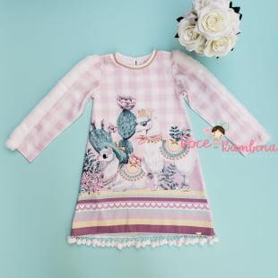 Vestido Petit Cherie Casual Lhama Fashion