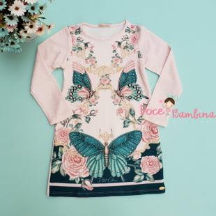 Vestido Petit Cherie Casual Romantic Garden