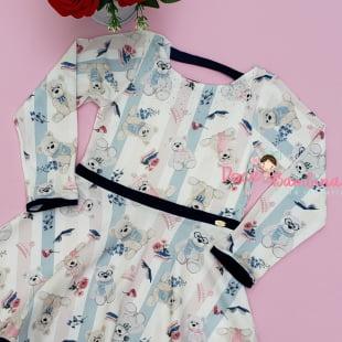 Vestido Petit Cherie Casual Ursinhos