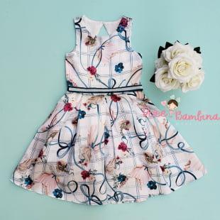 Vestido Petit Cherie de Festa Anjinhos