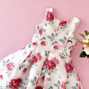 Vestido Petit Cherie de Festa Encanto das Rosas