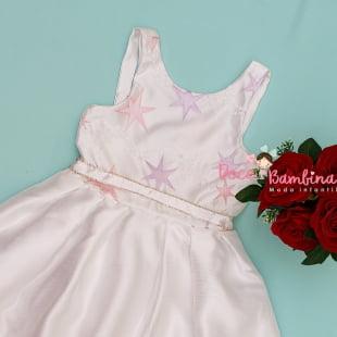 Vestido Petit Cherie de Festa Estrelinha