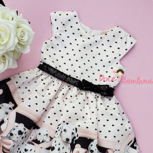 Vestido Petit Cherie de Festa Exclusivo Love Dalmatas