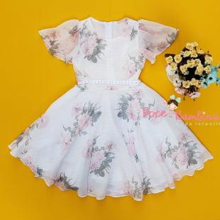 Vestido Petit Cherie de Festa Floral Encanto